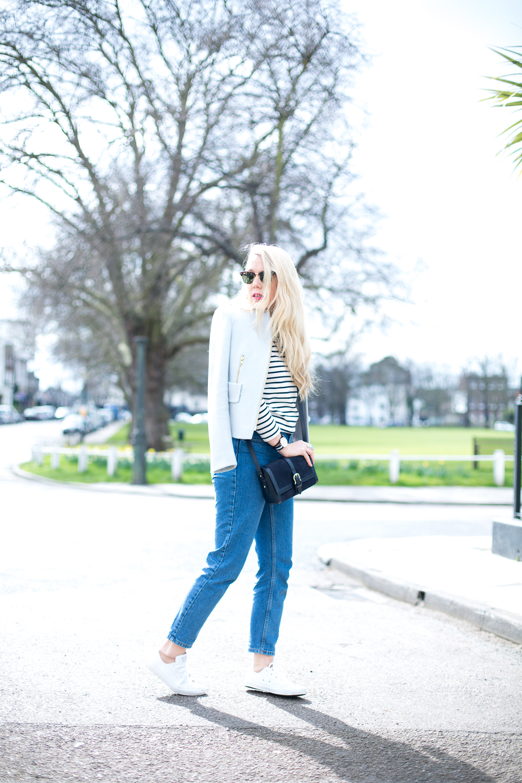 Breton Stripes Amp Mom Jeans Mediamarmalade