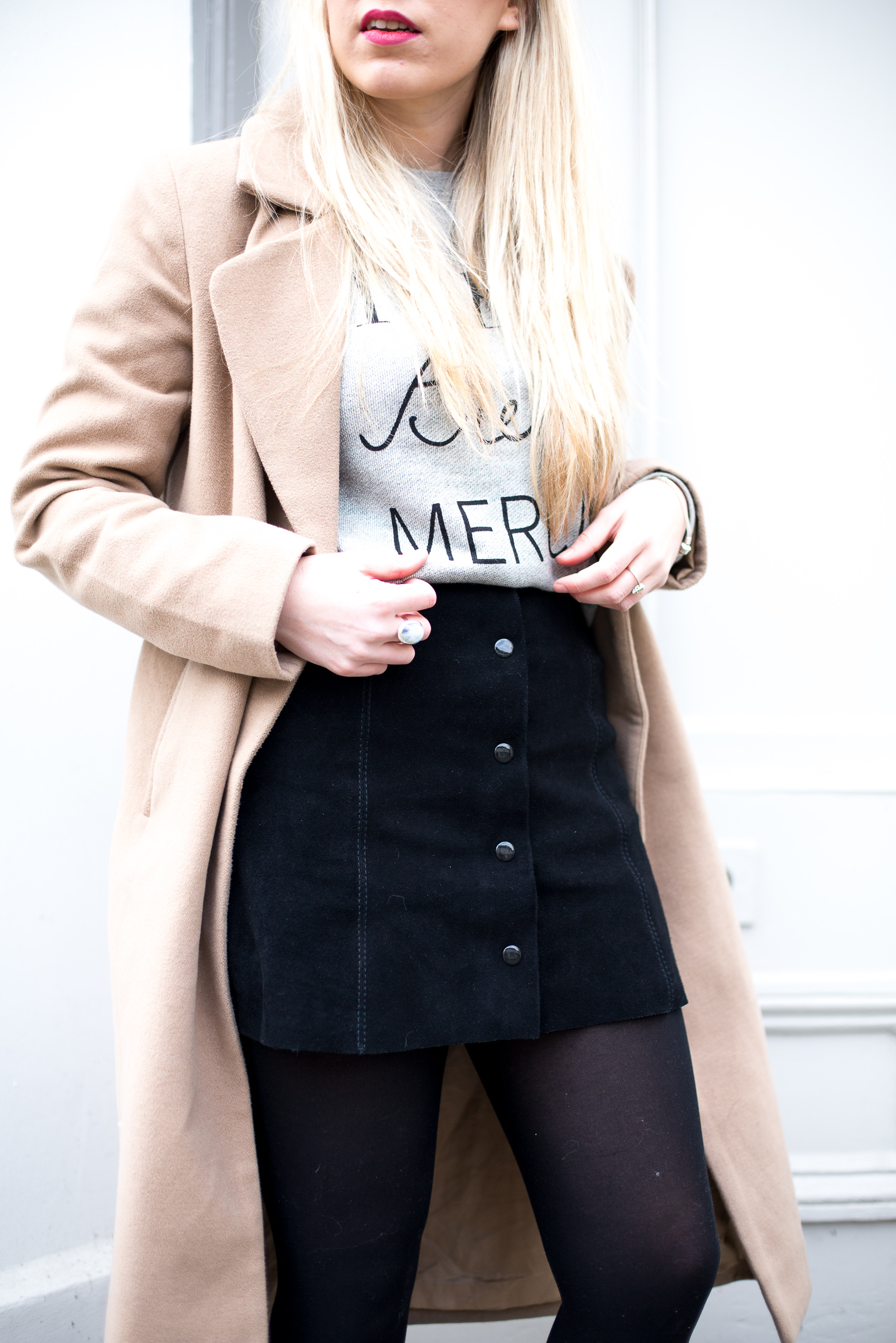 398021696c HOW TO WEAR A SUEDE SKIRT - Mediamarmalade