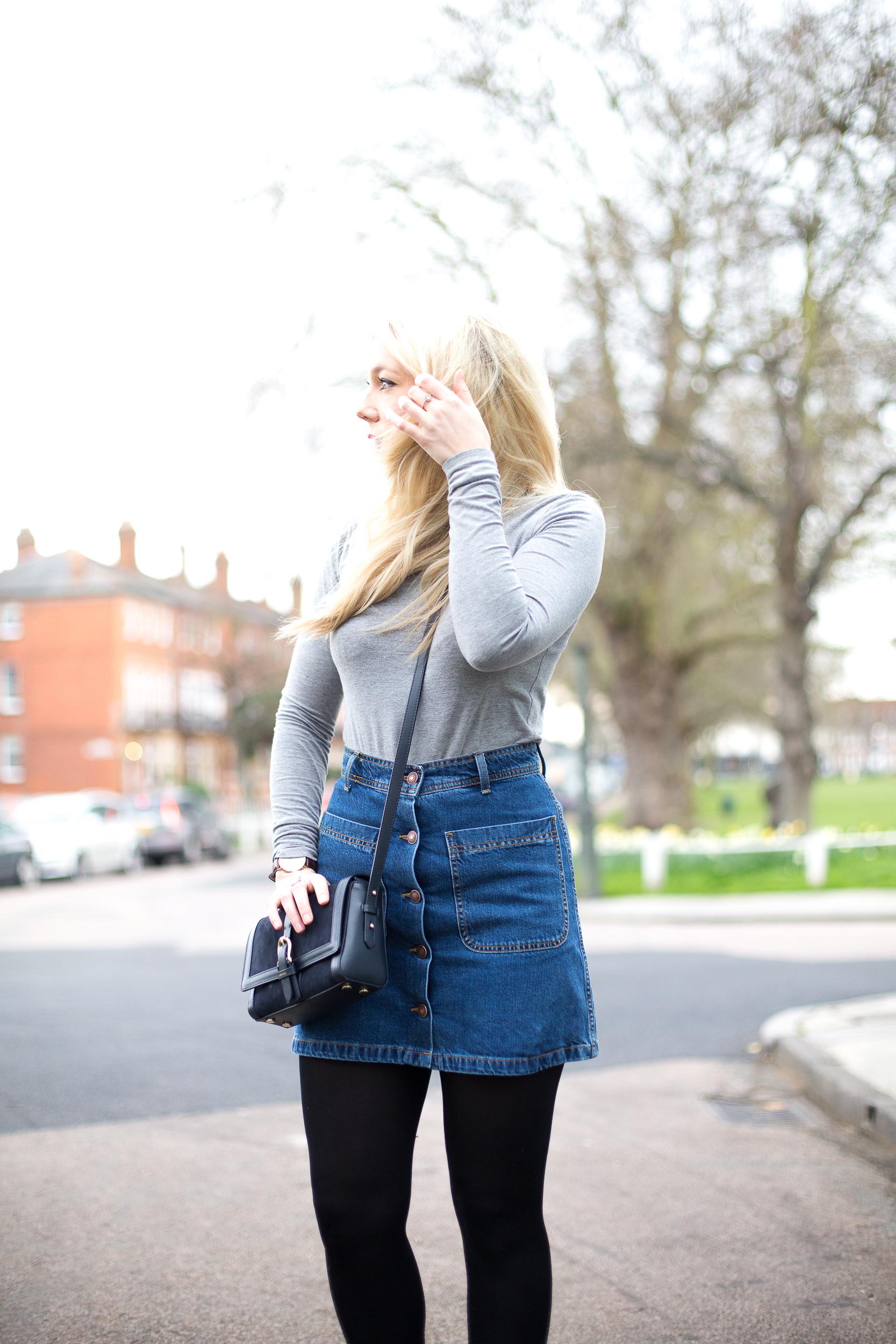 Diane Kruger Leggy in Mini Skirt – New York City, October 2015