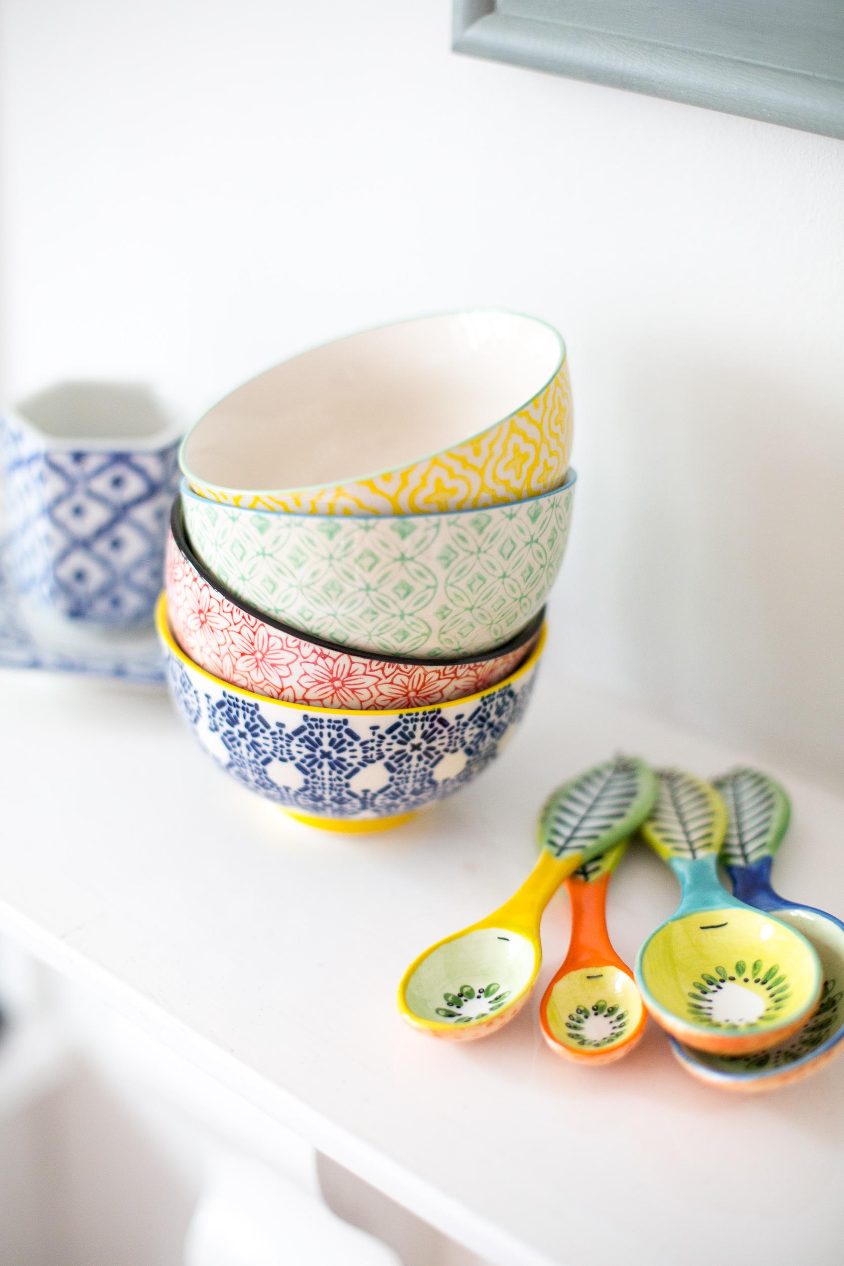 Pretty Kitchen Bowls