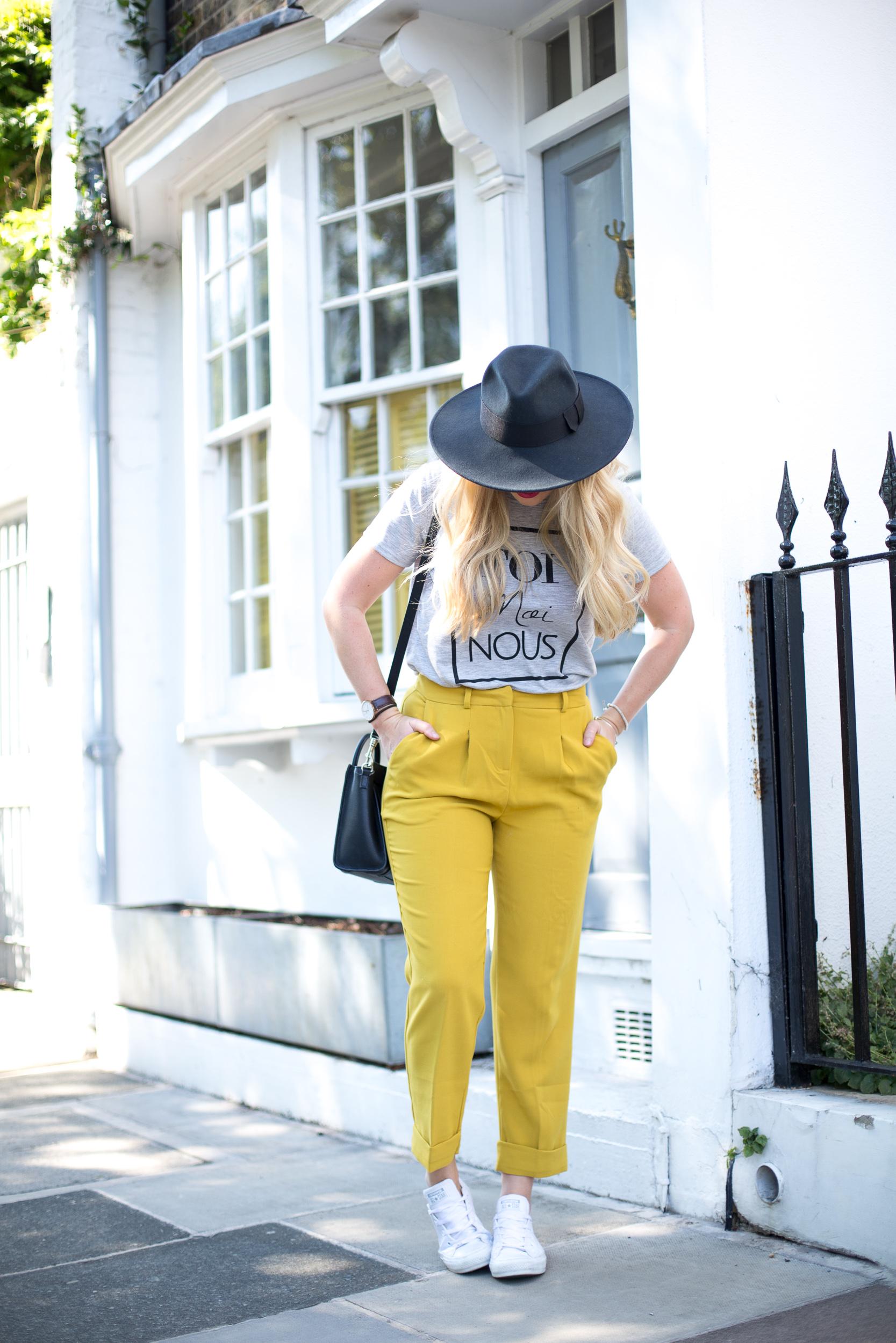 Media marmalade Yellow Trousers