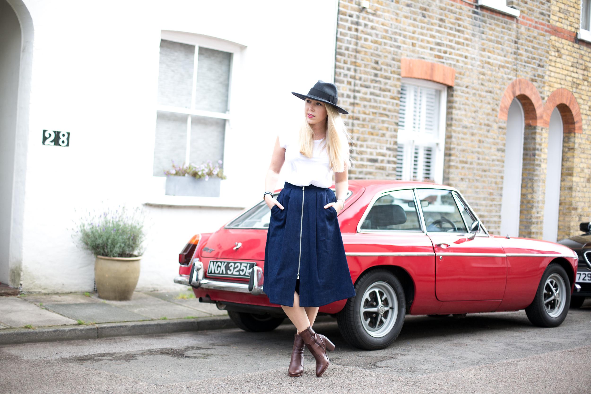 Mediamarmalade Whistles Midi Skirt
