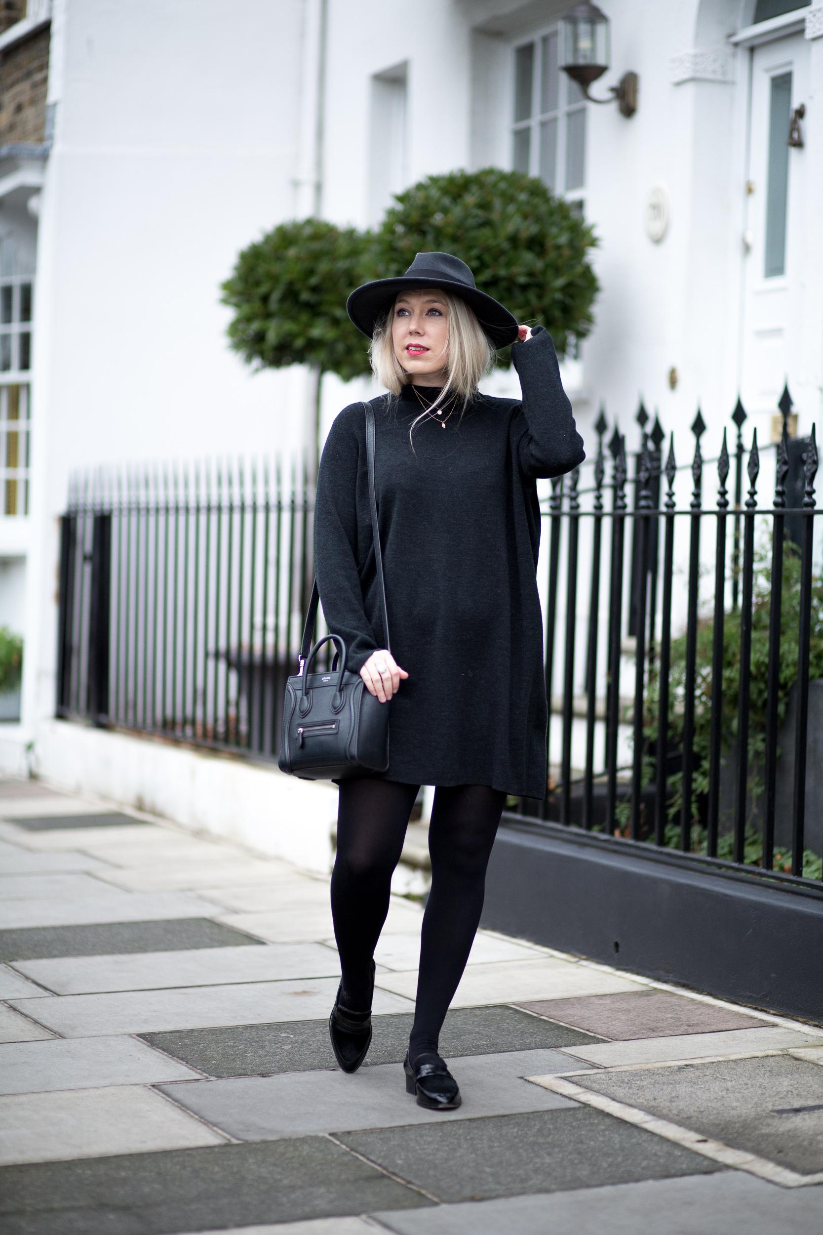 Mediamarmalade Cos Wool Dress