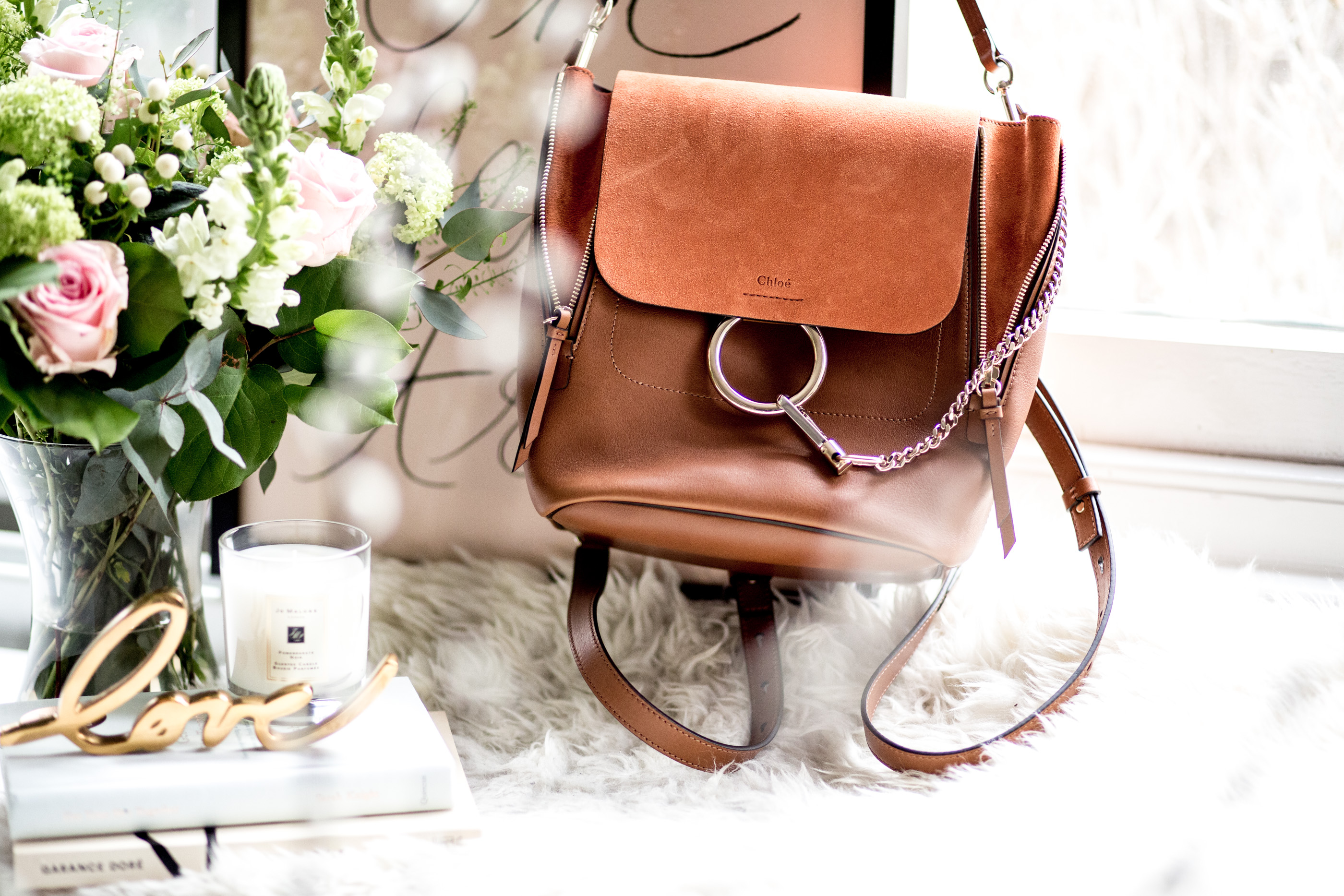 Mediamarmalade | Chloe Faye Backpack | Luxury Investments