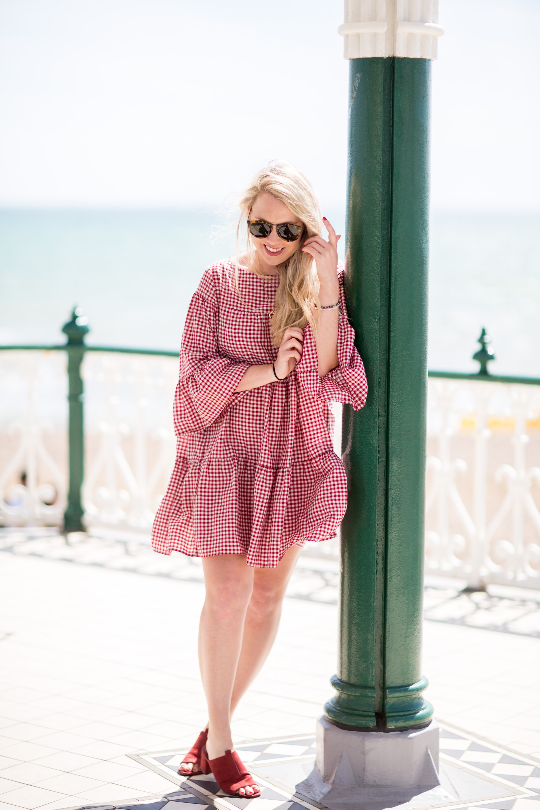Why You Need A Gingham Shift Dress This Summer